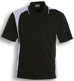 Bocini Unisex Adults Asymmetrical Contrast Panel Polo (CP1070) - Ace Workwear