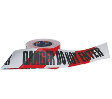 Barricade Tape Danger Do Not Enter - Ace Workwear