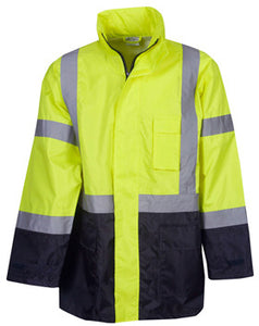 Hi Vis Day/Night Rain Jacket (J84) - Ace Workwear (9334322765)