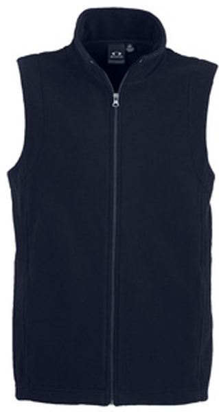 Mens Plain Micro Fleece Vest (F233MN) - Ace Workwear