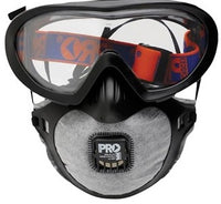 Pro Choice Safety Gear Filterspec Pro Goggle / Mask Combo P2+Valve+Carbon (FSPG)