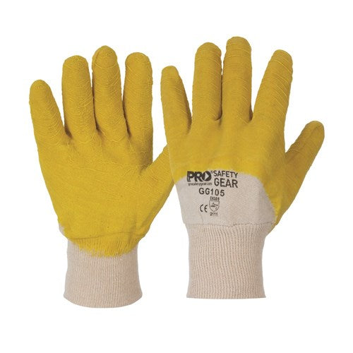 Pro Choice Glass Gripper Gloves Large - Carton (120 Pairs) (GG105) - Ace Workwear (4422793461894)