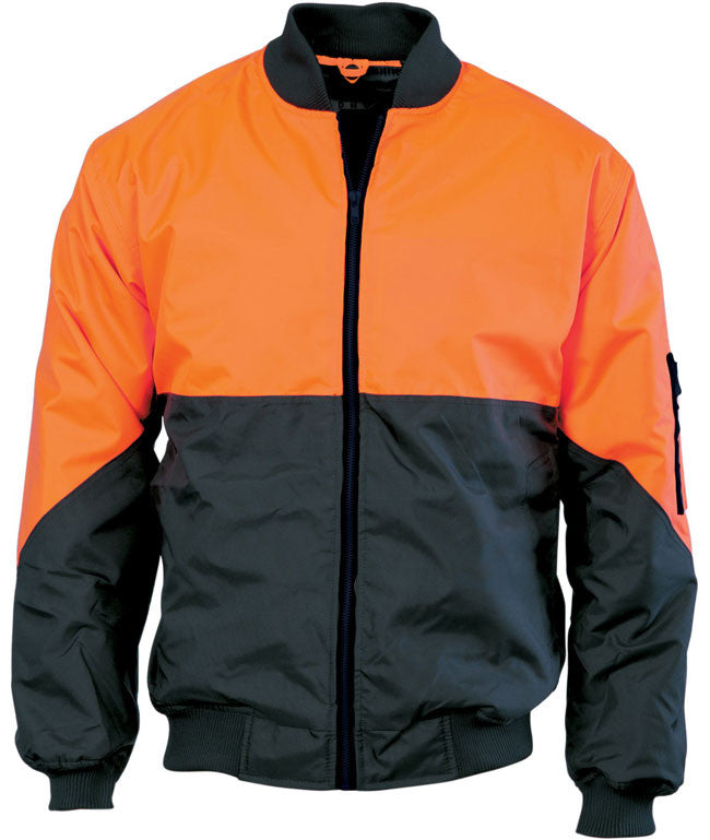 DNC Hi Vis Two Tone Day Bomber Jacket (3761) - Ace Workwear (9335109645)