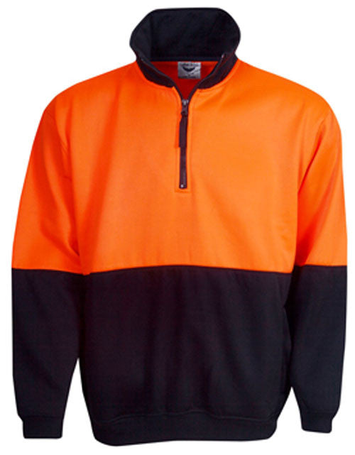 Hi Vis Fleecy Jumper (F85) - Ace Workwear