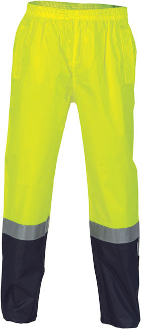 DNC Hi Vis Light Weight Rain Pants with 3M Reflective Tape (3880) - Ace Workwear