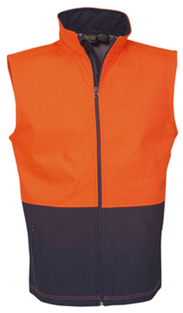 Hi Vis Soft Shell Day Vest (J88) - Ace Workwear