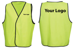Printed Hi Vis Vest - Ace Workwear
