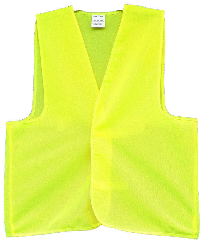 Hi Vis Plain Safety Vest - Ace Workwear (9470479117)