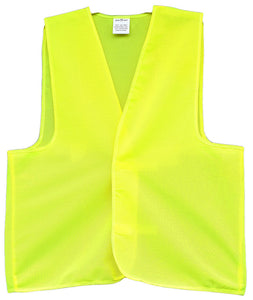 Hi Vis Plain Safety Vest - Ace Workwear