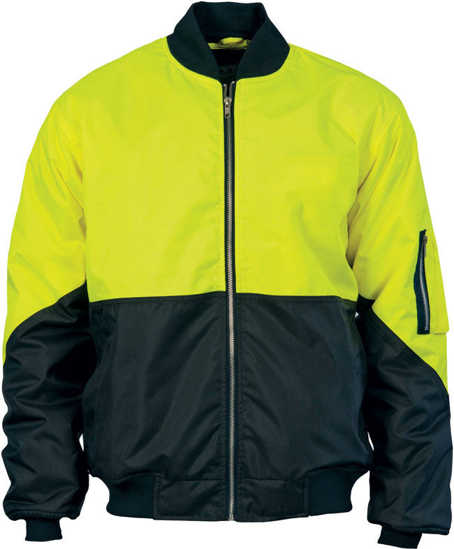 DNC Hi Vis Two Tone Flying Jacket (3861) - Ace Workwear (9336664205)