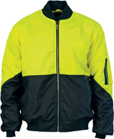 Hi Vis Two Tone Flying Jacket (3861) - Ace Workwear