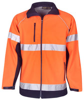 Hi Vis Soft Shell Day & Night Jackets (J87) - Ace Workwear