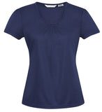 Chic Ladies Top (K315LS) - Ace Workwear