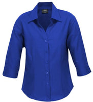 Biz Care Ladies Plain Oasis 3/4 Sleeve Shirt - Ace Workwear
