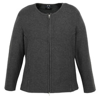 Biz Care Ladies 2-Way Zip Cardigan - Ace Workwear