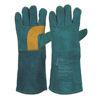 Pro Choice Pyromate® South Paw® Left Hand Pair -Green & Gold Kevlar® Glove Green - Pack (12 Pairs) (LGW16E)