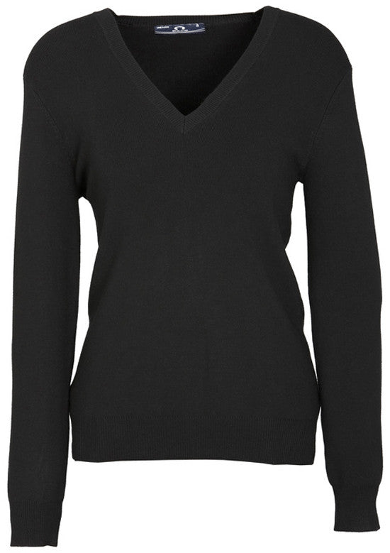 Ladies V-Neck Pullover (LP3506) - Ace Workwear