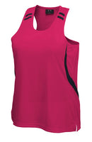 Biz Ladies Flash Singlet - Ace Workwear