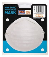 Pro Choice Non Toxic Dust Mask - Box of 10 (PC101-10) - Ace Workwear