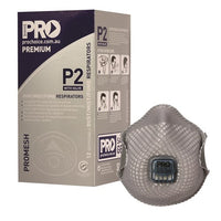 Pro Choice Safety Gear Dust Masks Promesh P2+Valve - Box of 12 (PC822) - Ace Workwear