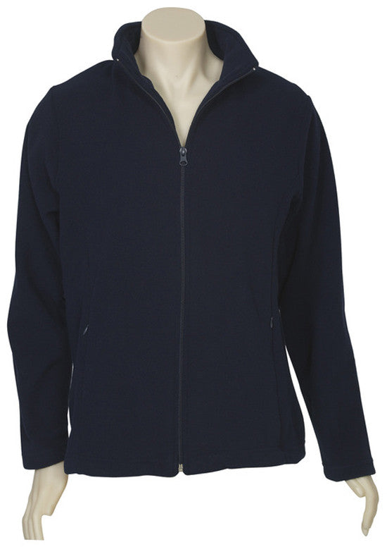 Ladies Plain Micro Fleece Jacket (PF631) - Ace Workwear