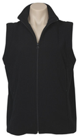 Ladies Plain Micro Fleece Vest (PF905) - Ace Workwear