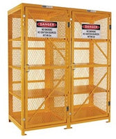 PRATT Aerosol Storage Cage. 4 Storage Levels Up To 800 Cans. (Comes Flat Packed - Assembly Required) (PSGC16A-FP) - Ace Workwear