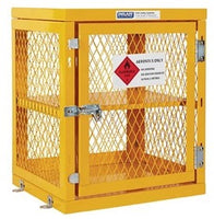 PRATT Aerosol Storage Cage. 2 Storage Level Up To 84 Cans. (Comes Flat Packed - Assembly Required) (PSGC2A-FP) - Ace Workwear