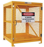 PRATT Aerosol Storage Cage. 2 Storage Levels Up To 200 Cans. (Comes Flat Packed - Assembly Required) (PSGC4A-FP) - Ace Workwear