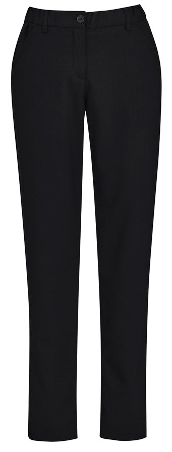 Biz Care Womens Comfort Waist Slim Leg Pant - Ace Workwear