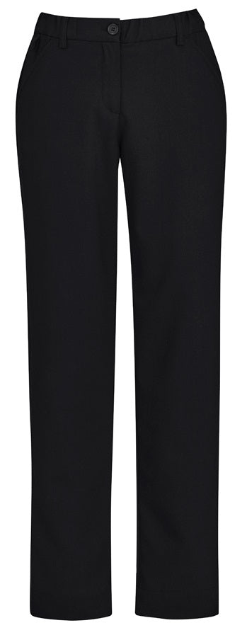 Biz Care Womens Comfort Waist Straight Leg Pant - Ace Workwear