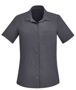 Biz Care Womens Easy Stretch Short Sleeve Shirt - Ace Workwear