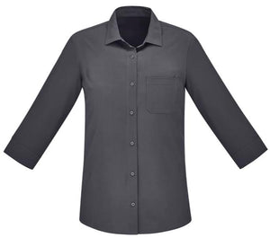 Biz Care Womens Easy Stretch 3/4 Sleeve Shirt - Ace Workwear
