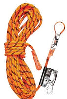 LINQ Kernmantle Rope with Thimble Eye & Rope Grab 15M (RKRG015) - Ace Workwear
