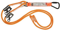 LINQ Double Adjustable Rope Lanyard with KT & RG X2 (RLA2KTRG)