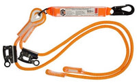 LINQ Double Adjustable Rope Lanyard with SN & RG X2 (RLA2SNRG)
