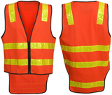 Hi Vis Vic Road Style Day Night Safety Vest - Ace Workwear