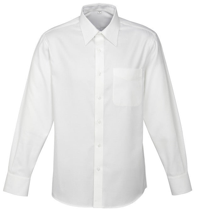 Luxe Mens Long Sleeve Shirt (S10210) - Ace Workwear
