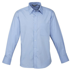 Biz Collection Mens Base Long Sleeve Shirt (S10510)
