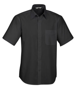 Biz Collection Mens Base Short Sleeve Shirt (S10512) - Ace Workwear