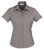 Chevron Short Sleeve Ladies Top (S122LS) - Ace Workwear
