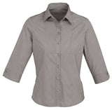 Chevron 3/4 Sleeve Ladies Top (S122LT) - Ace Workwear