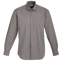Biz Collection Chevron Mens Long Sleeve Shirt (S122ML) - Ace Workwear