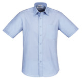 Biz Collection Chevron Mens Short Sleeve Shirt (S122MS) - Ace Workwear