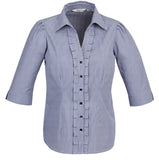 Edge 3/4 Sleeve Ladies Top (S267LT) - Ace Workwear