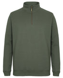 JB's C of C 1/2 Brass Zip Sweat (S3FSZ)
