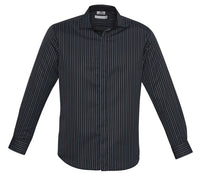 Biz Collection Reno Stripe Mens Long Sleeve Shirt (S415ML) - Ace Workwear