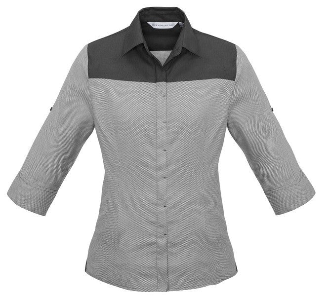 Havana 3/4 Sleeve Ladies Top (S503LT) - Ace Workwear