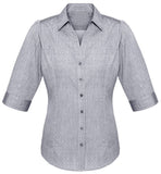 Trend 3/4 Sleeve Ladies Top (S622LT) - Ace Workwear