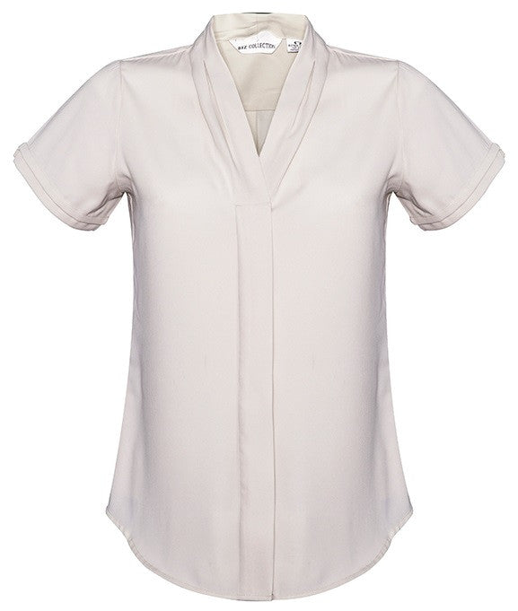 Biz Collection Madison Short Sleeve Ladies Top (S628LS) - Ace Workwear